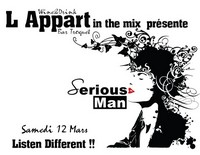 Serious-Man - Live @ 'Appart Bar' (Poitiers, Fr) 12 03 2011