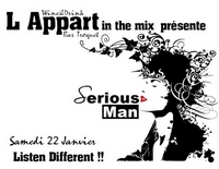Serious-Man - Live @ 'Appart Bar' (Poitiers, Fr) 22 01 2011
