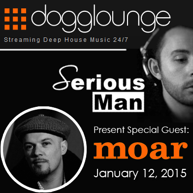 01/12 Dj Moar Special guest by Serious-Man in 'Different Muziq' session
